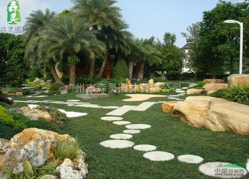 广州别墅景观园林设计、施工、养护